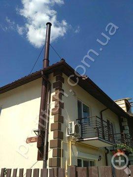 Дымоходы для частных домов цена
