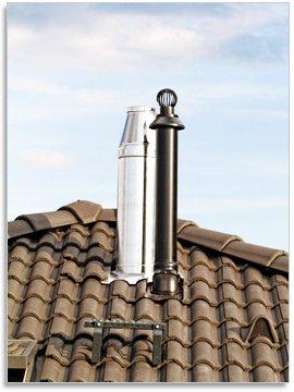 Дымоходы из нержавеющей стали с теплоизоляцией
